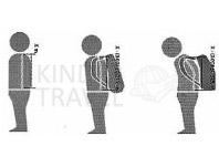 Высота рюкзака, правила
