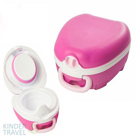 Дорожный горшок My Carry Potty New -Розовый-