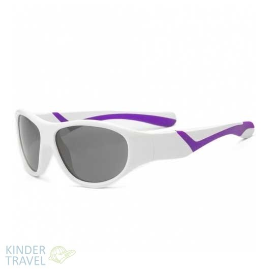 Солнцезащитные очки Real Kids -Discover- 4-7 White/Violet